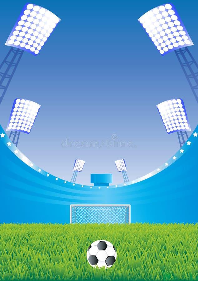 стадион футбола цели бесплатная иллюстрация
