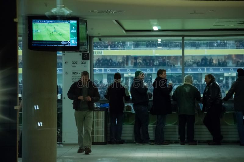 Стадион Aviva dublin Ирландия стоковое изображение rf
