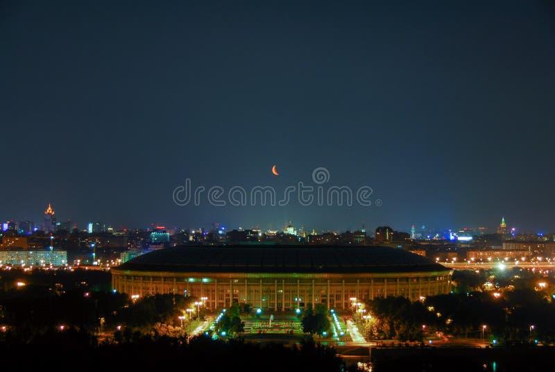 Стадион Luzhniki - Москва, Россия стоковое фото