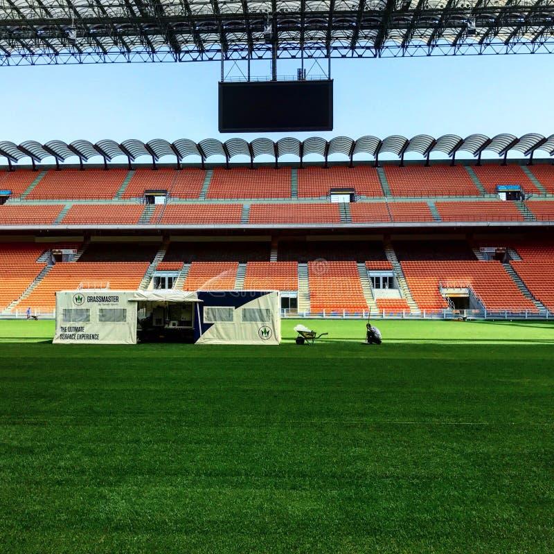 стадион siro san стоковые фотографии rf