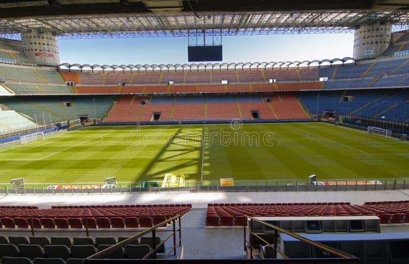 стадион siro san стоковые изображения rf