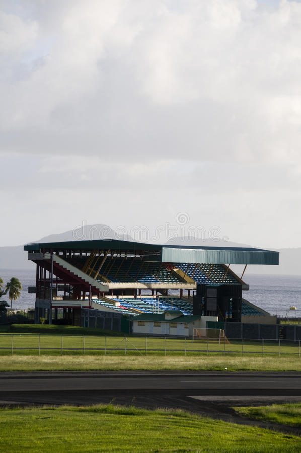 стадион stewart st joshua roy авиапорта vincent стоковое фото rf
