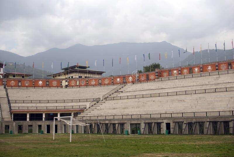 стадион thimphu changlimithang Бутана стоковое фото