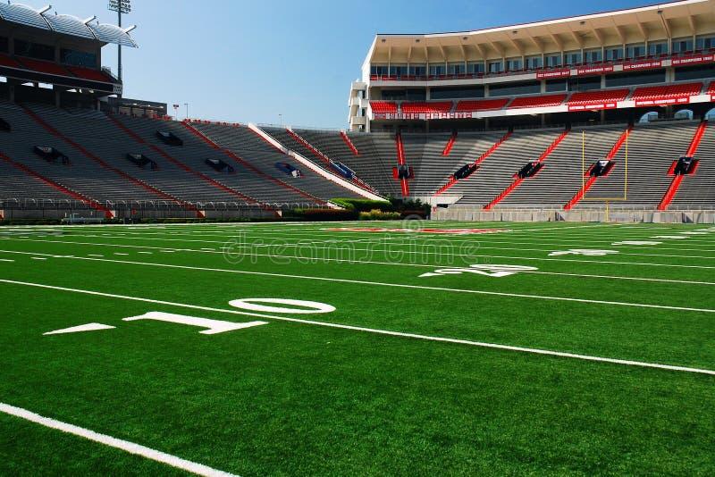 Стадион Vaught Hemingway в университете Миссиссипи стоковые изображения rf