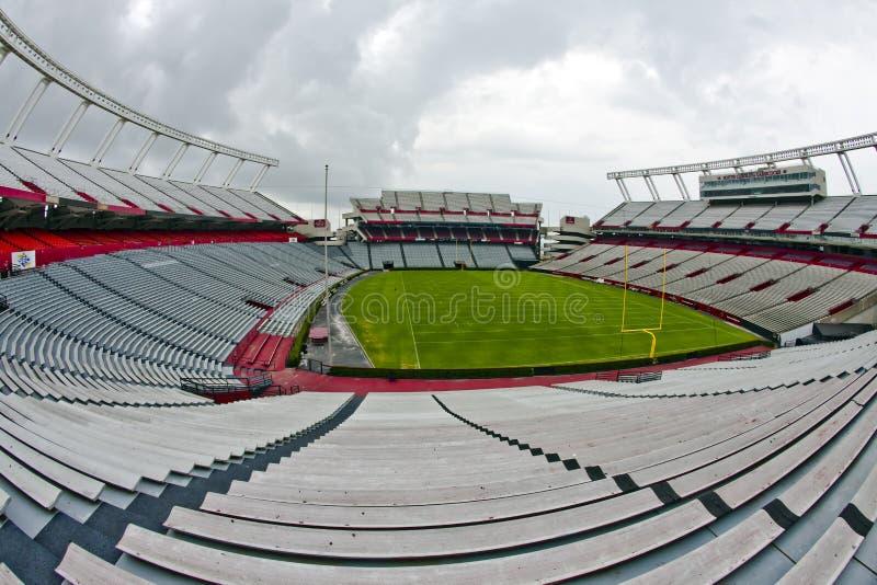 стадион williams brice стоковые фотографии rf