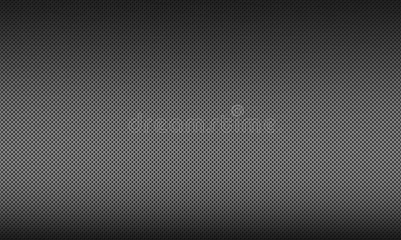 Стальная предпосылка текстуры, предпосылка металла с кругом иллюстрация вектора