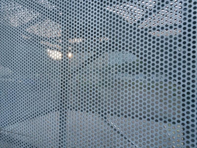 Стальные листы с translucency стоковая фотография rf