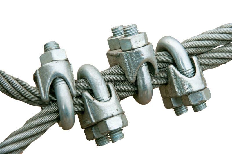 сталь веревочки стоковое изображение