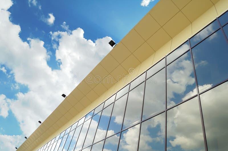 сталь конструкции стеклянная самомоднейшая стоковые фотографии rf