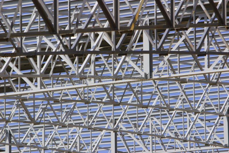 сталь крыши стоковое изображение