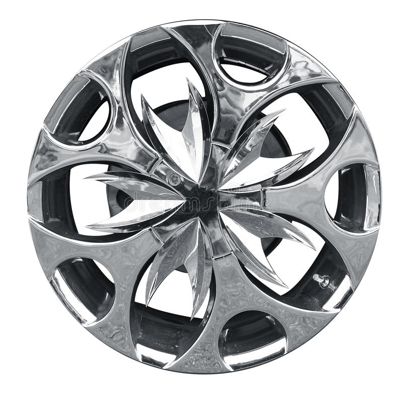сталь оправы автомобиля сплава стоковое изображение rf