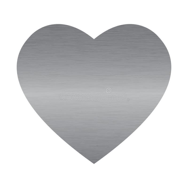 сталь сердца иллюстрация вектора