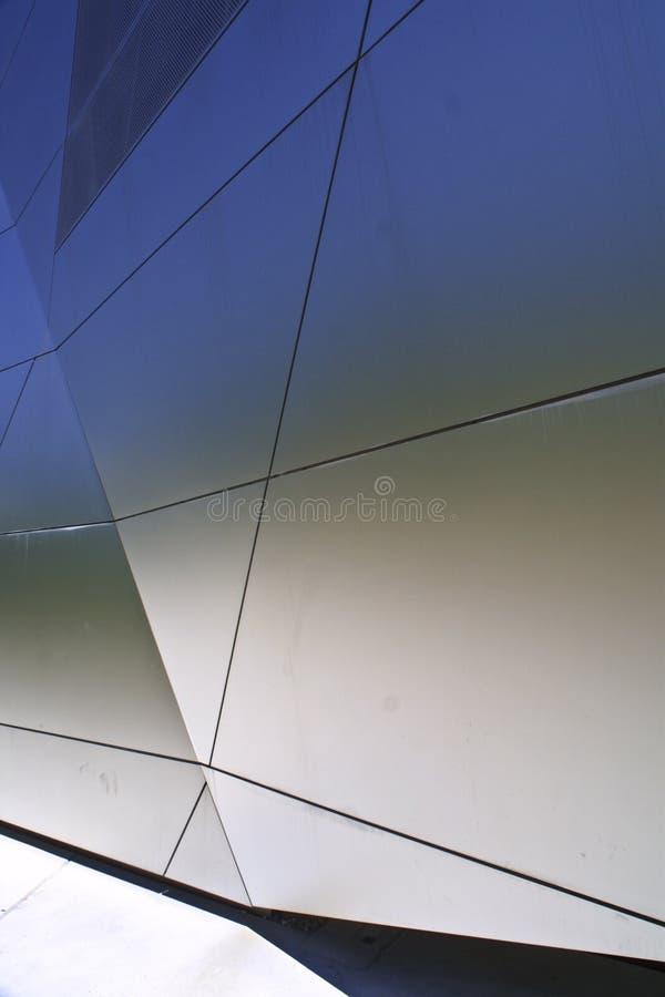 сталь фасада стоковые фотографии rf