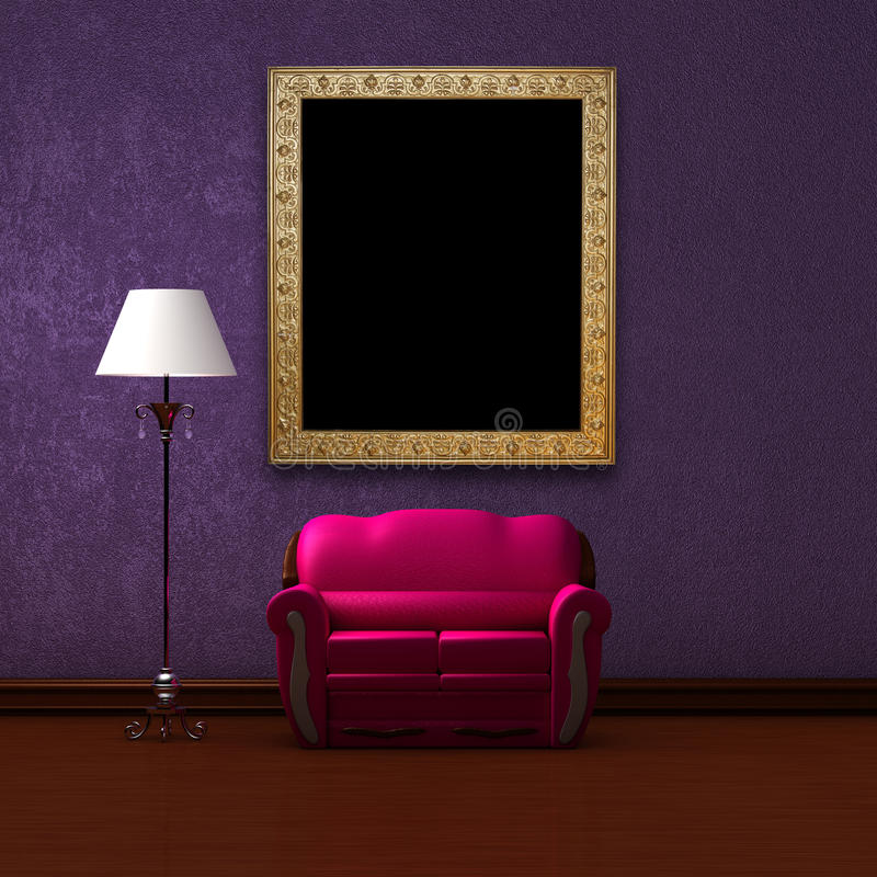стандарт пинка изображения светильника рамки кресла бесплатная иллюстрация