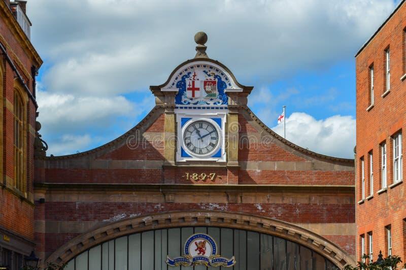 Станция Виндзора на Англии Великобритании стоковое фото rf