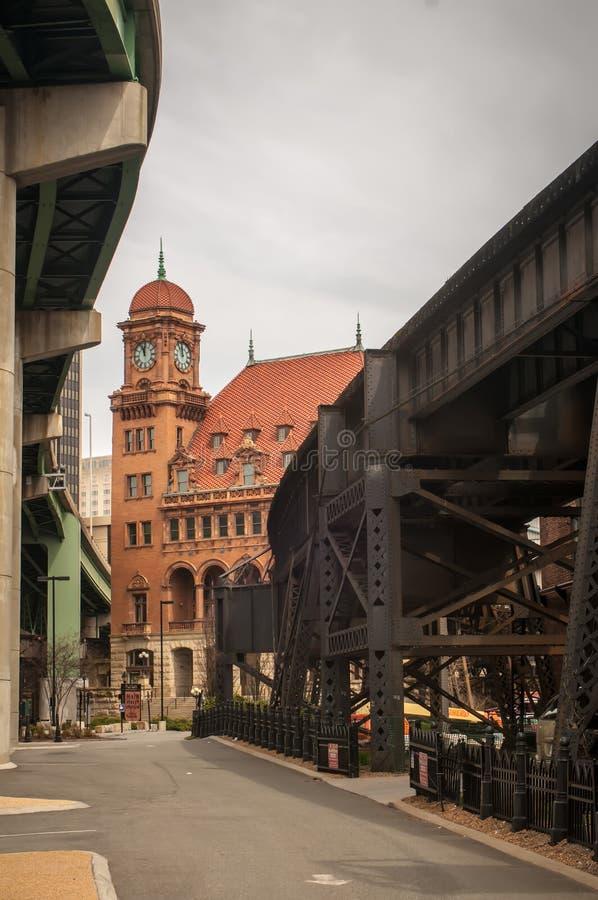 Станция главной улицы - Ричмонд VA стоковая фотография rf
