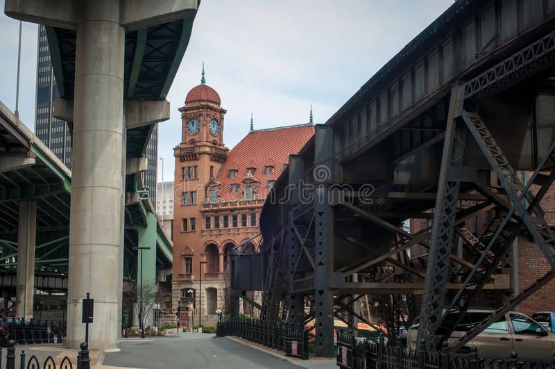 Станция главной улицы - Ричмонд VA стоковые изображения rf