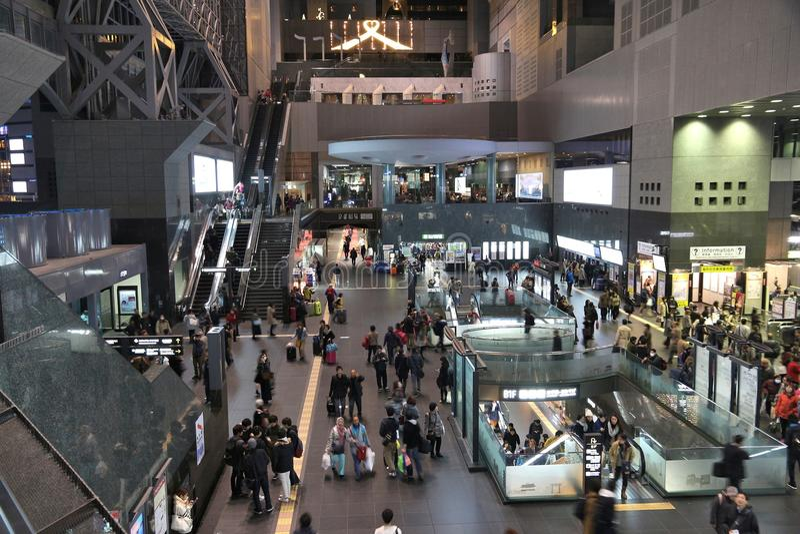 Станция Киото стоковые изображения rf
