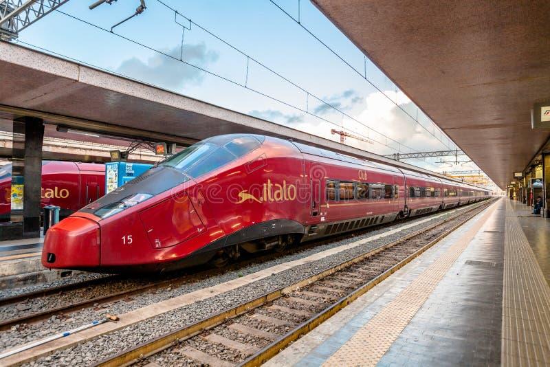 Станция конечных станций Roma стоковые изображения