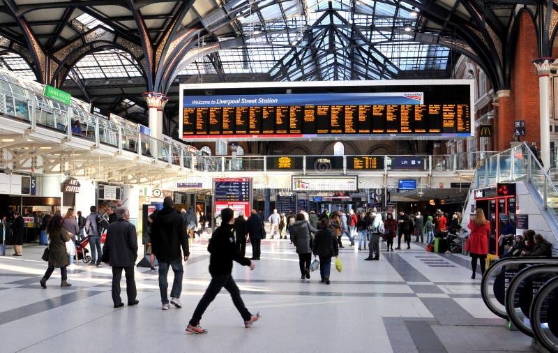 Станция метро Ливерпуля стоковые изображения rf