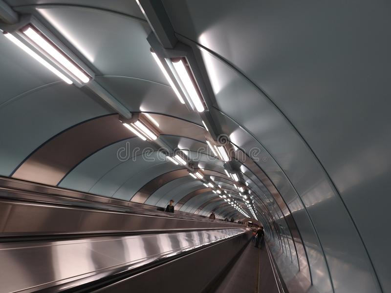 Станция метро стоковые фото