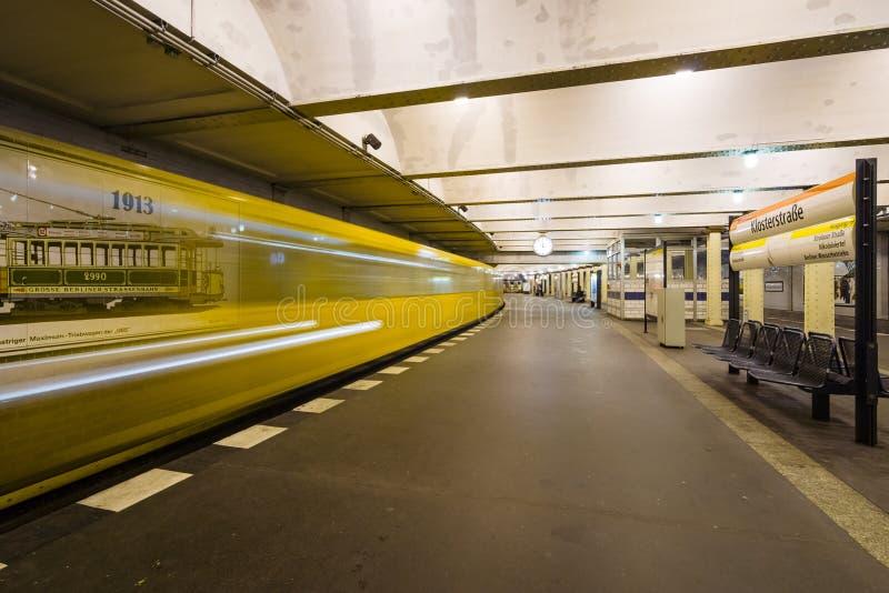 Станция метро Klosterstrasse стоковое изображение