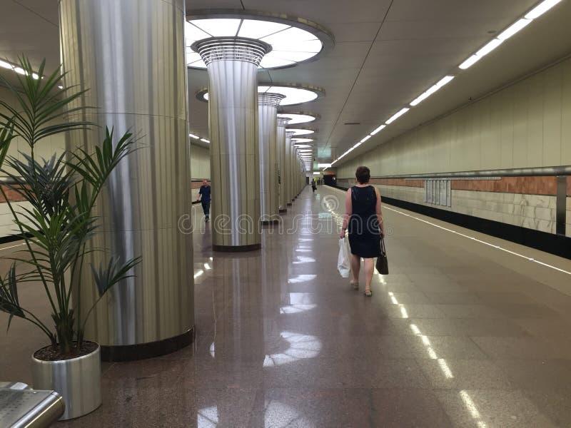 Станция метро Kotelniki стоковое фото rf