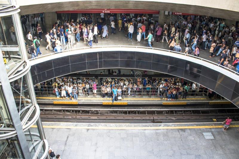 Станция метро Se стоковое изображение rf