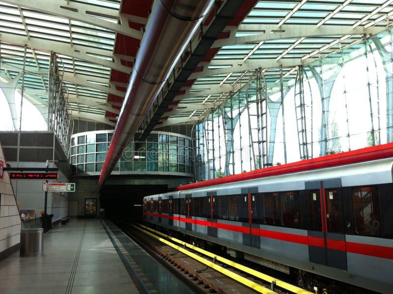Станция метро Strizkov стоковое изображение rf