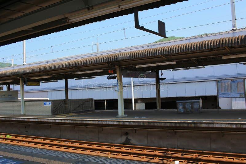 станция на Mihara Японии стоковые фотографии rf