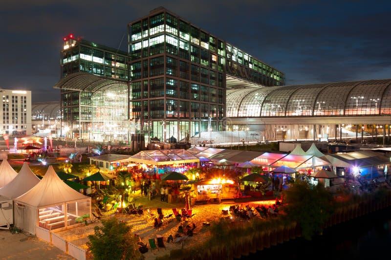 станция партии berlin центральная стоковая фотография