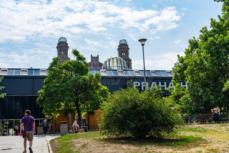 Станция Пража в Чехии стоковое фото