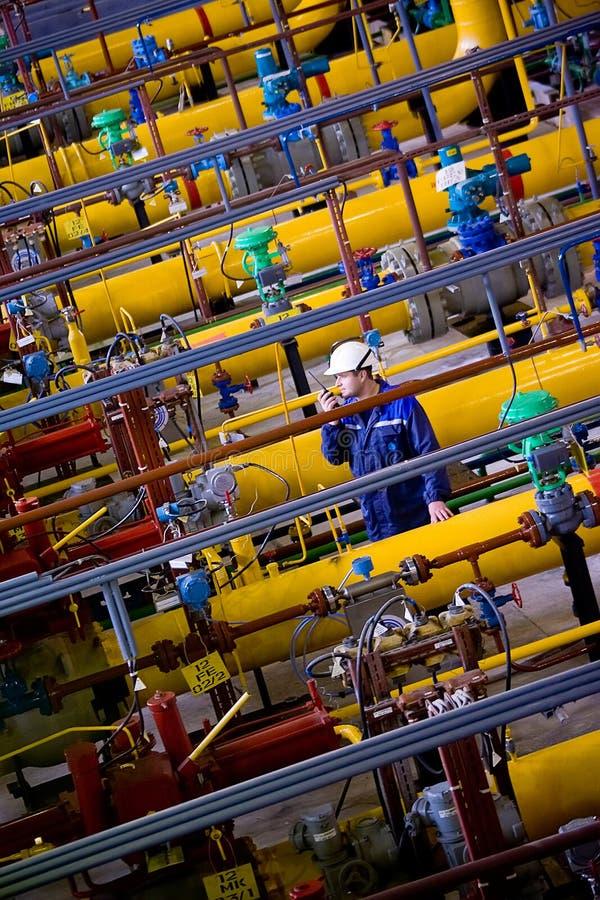 станция России газа компрессора естественная стоковое фото rf