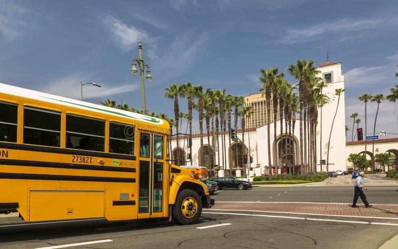 Станция соединения, городское Лос-Анджелес, Калифорния, Соединенные Штаты Америки стоковое фото