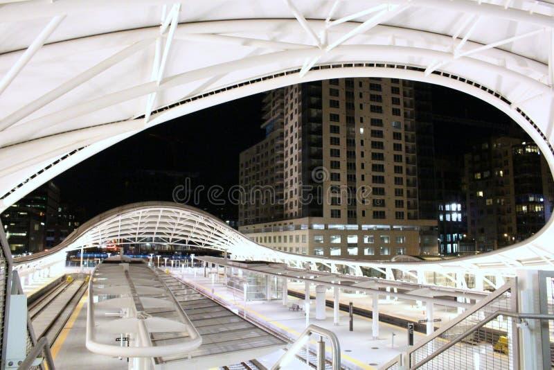 Станция соединения, городской Денвер стоковые изображения