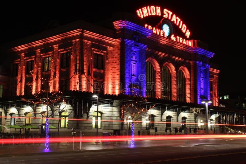 Станция соединения: Денвер, Колорадо стоковое фото