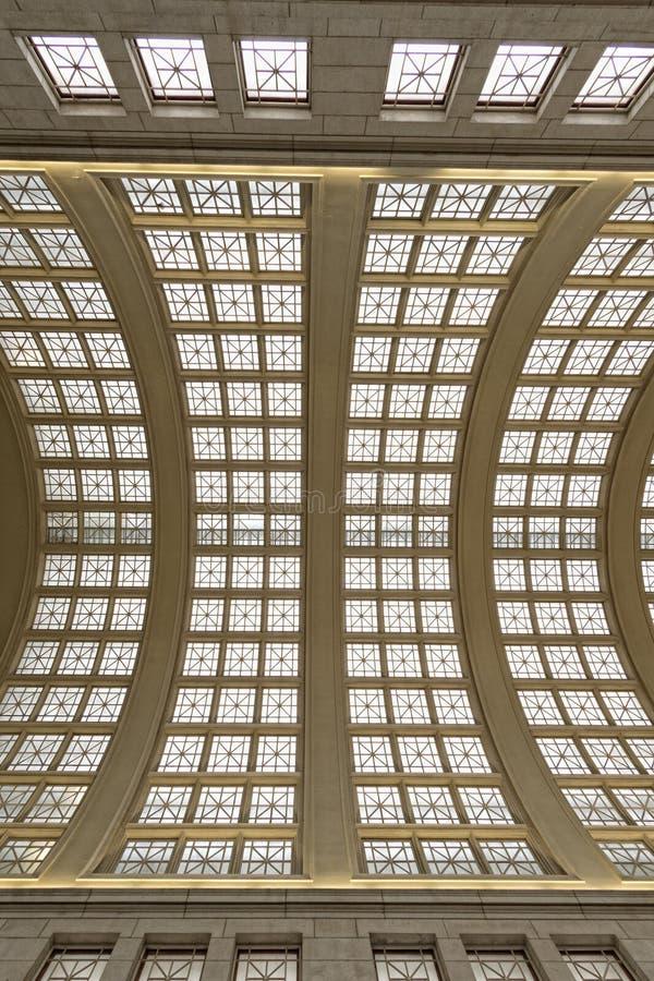 Станция соединения dc Вашингтона внутренняя стоковое фото rf