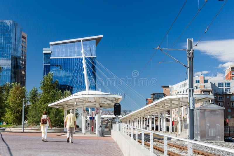 Станция транспорта стоковые фото