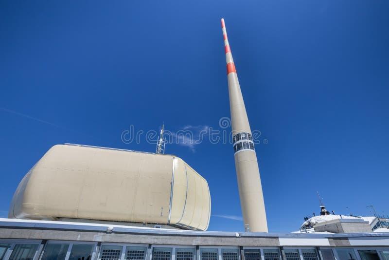 станция Швейцария горы saentis стоковое фото