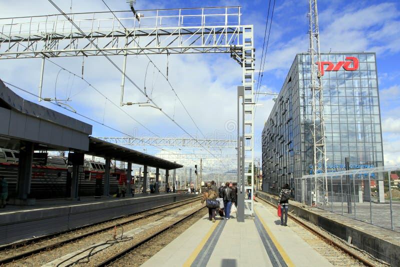 Станция стоковые изображения rf