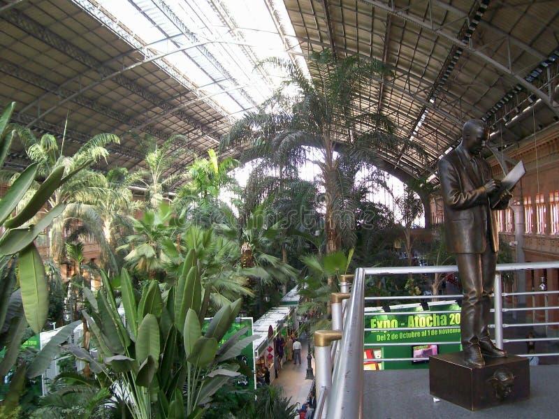 станция atocha стоковое изображение rf
