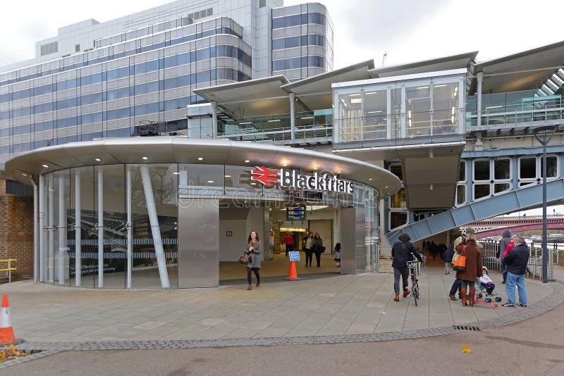 Станция Blackfriars южная стоковое изображение