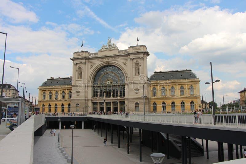 Станция Keleti в Будапеште стоковые фотографии rf