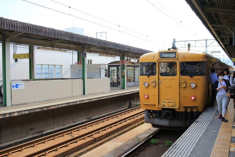 станция Mihara на 2016 стоковое фото rf