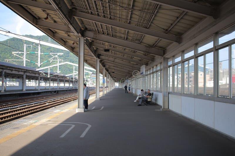 станция Mihara на 2016 стоковая фотография