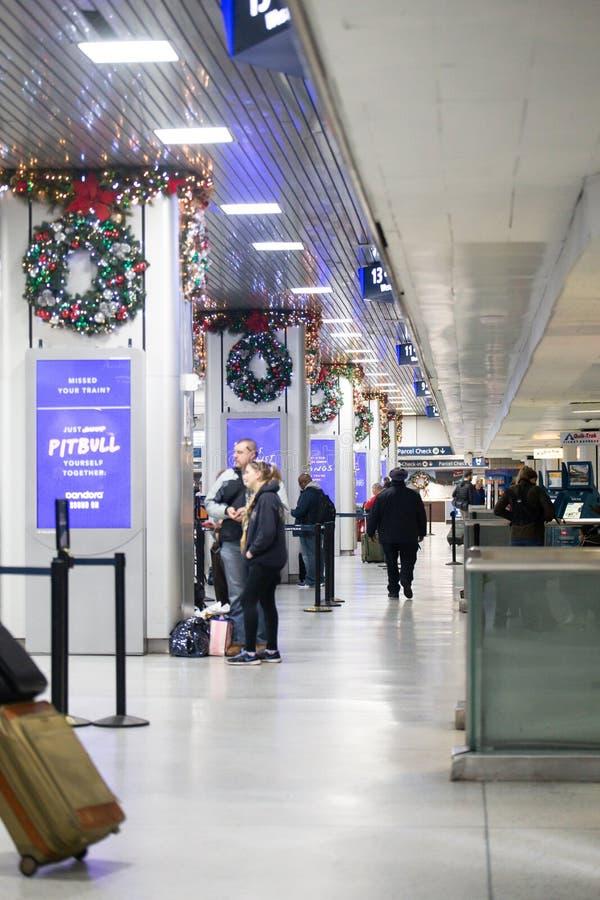 Станция NYC Пенна стоковая фотография rf