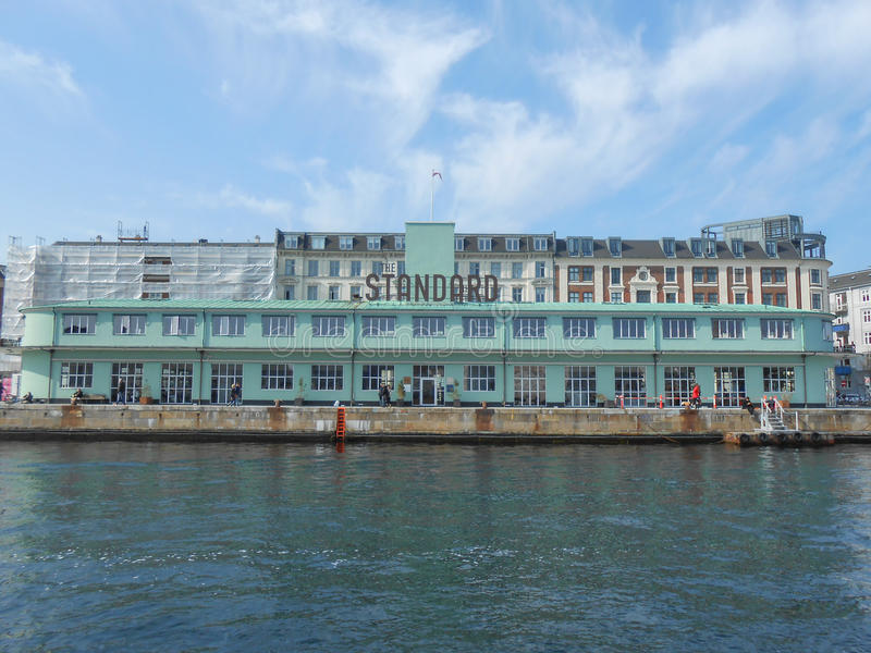 Стандартный Копенгаген стоковая фотография rf