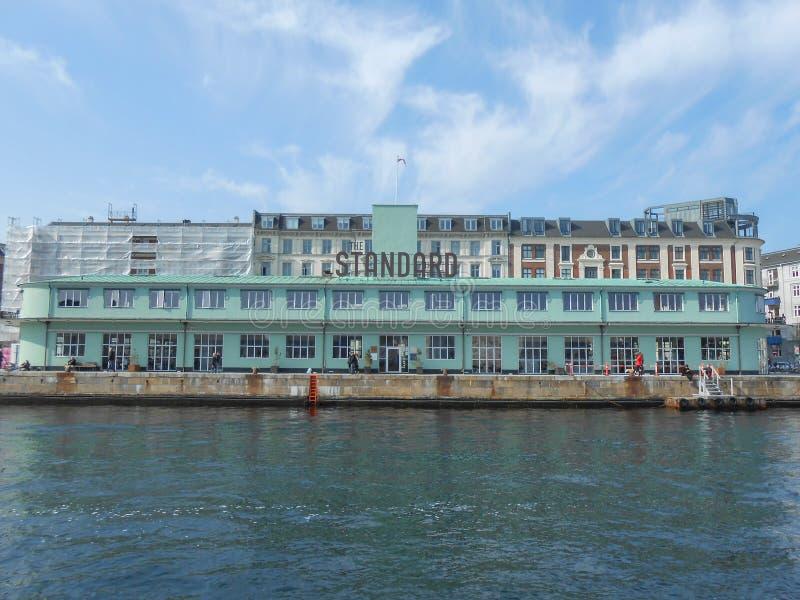 Стандартный Копенгаген стоковое фото rf
