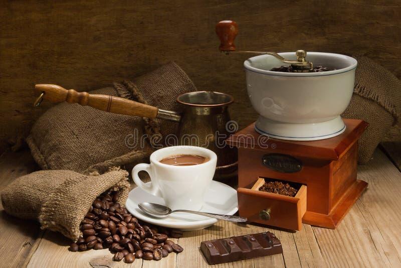 стан кофе стоковое изображение rf