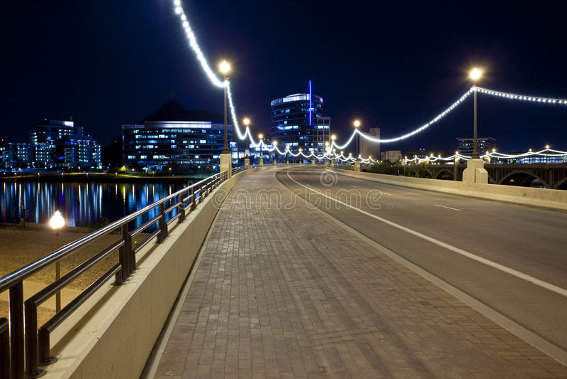 стан tempe моста бульвара Аризоны городской к стоковое фото